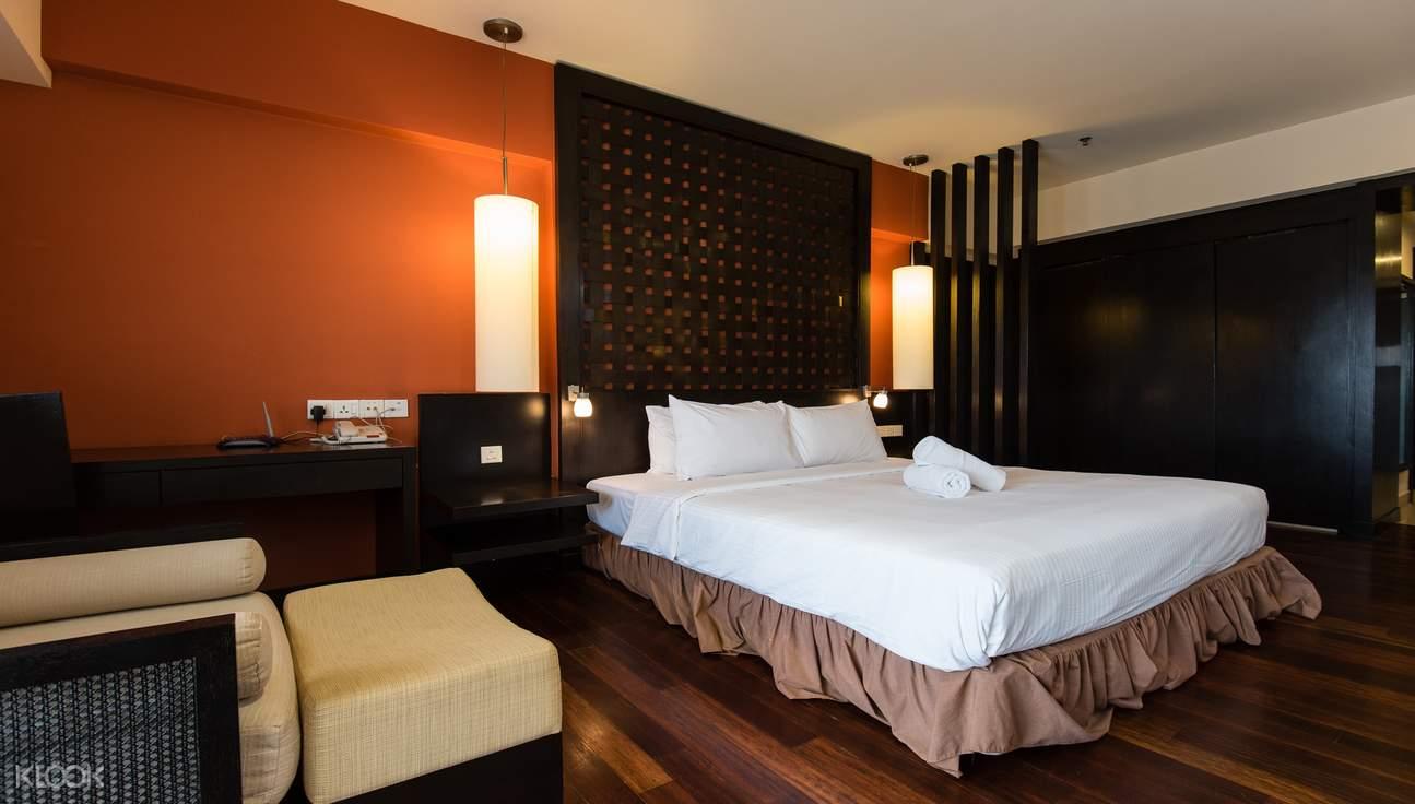 Deluxe King Room in Sunway Resort Suites Hotel